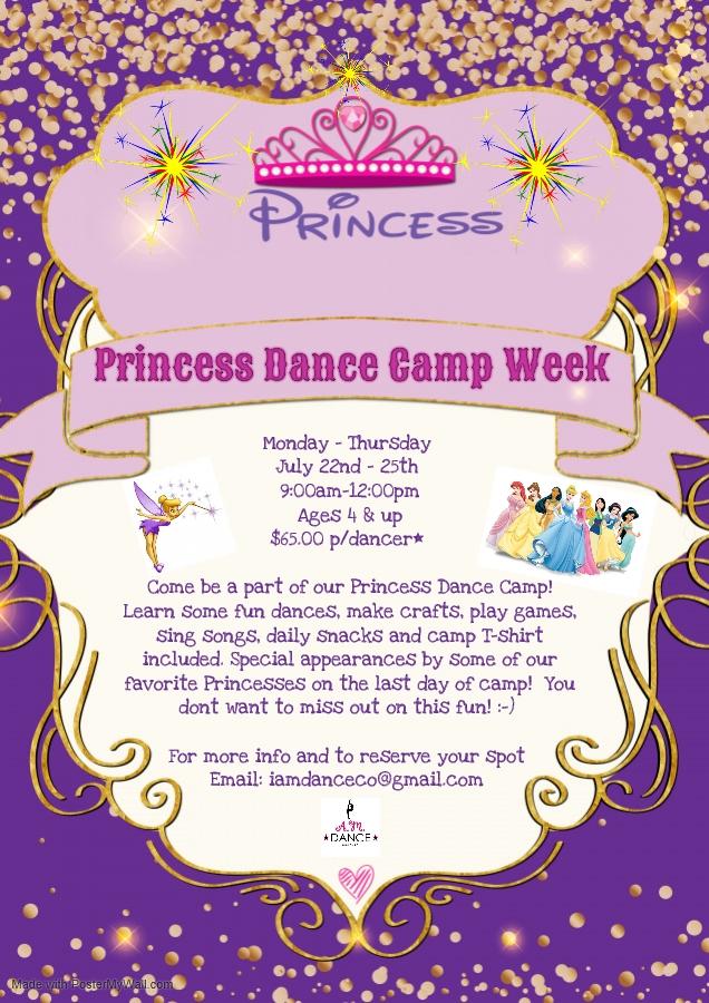 Princess Camp - July